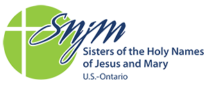 Sisters of the Holy Names of Jesus and Mary logo
