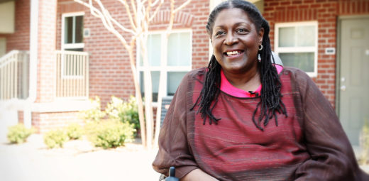 Mercy Housing resident Terri Ruffin