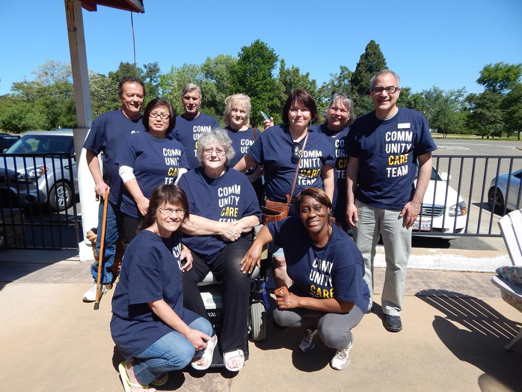 White Rock Village's Community Care Team, Mercy Housing California, Mercy Housing