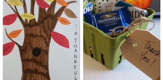 Art and appreciation gift created by residents at a crafting activity.