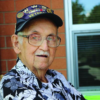Leonard a senior resident and veteran