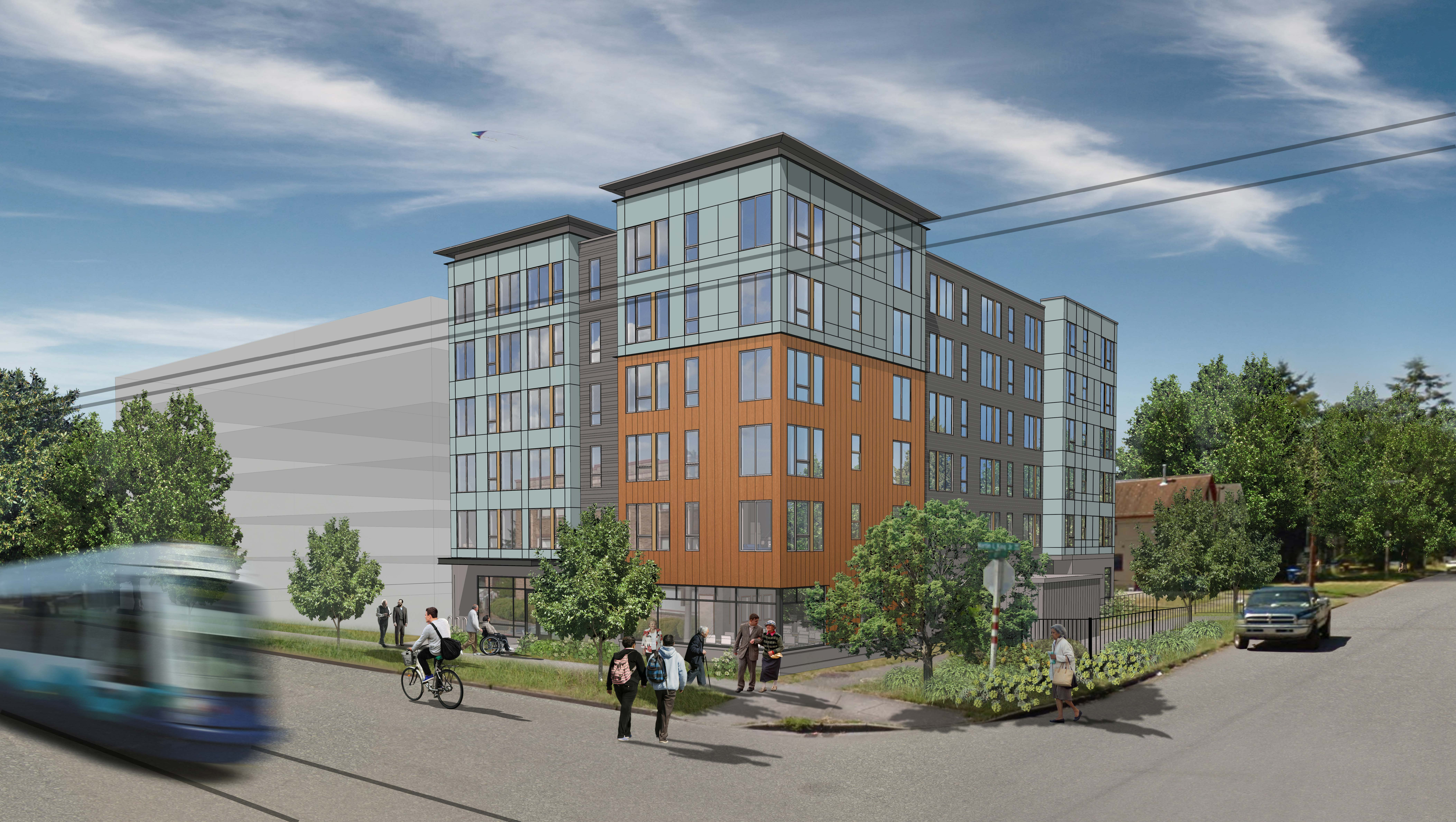MLF Senior Housing in Tacoma Rendering