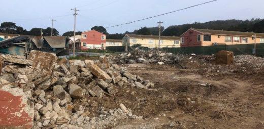 Demolition Begins at Sunnydale
