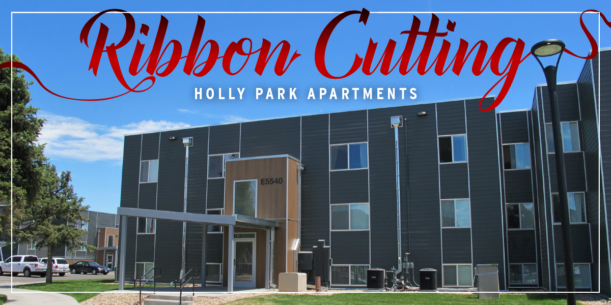 Holly Park Apartments Ribbon Cutting
