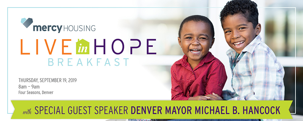 Live In Hope | Mercy Housing Colorado