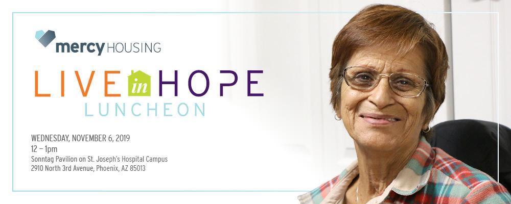 Live in Hope Luncheon | Phoenix