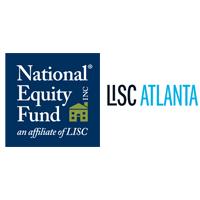 NEF and LISC Atlanta logos