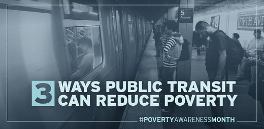 3 Ways Public Transit Can Reduce Poverty