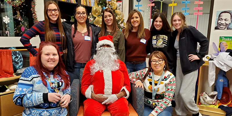 As part of a wonderful, long-standing tradition, Dignity Health Foundation and Mercy General have collectively sponsored 500 children at various Mercy Housing properties in the Greater Sacramento area in a Toy Drive each year.