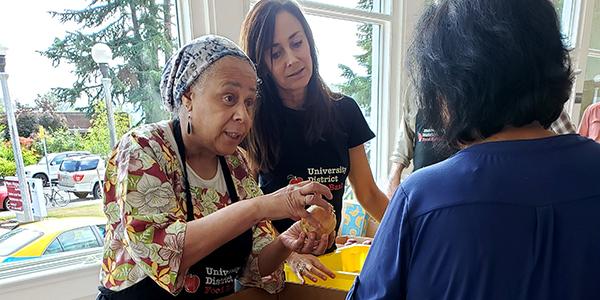 Magnuson Park Food Pantry Volunteers