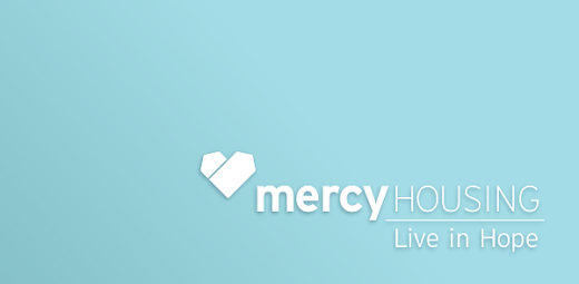 Mercy Housing logo with tagline 'Live in Hope'