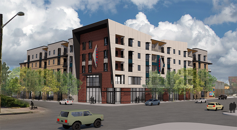 Rendering of 8315 East Colfax