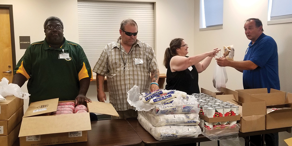 Wisconsin residents are getting healthy food thanks to partner Hunger Task Force.