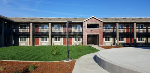 Mercy Housing has refined the motel-conversion model with our recently completed community, Courtyard on Orange Grove