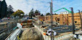 Construction site for MLK Senior housing