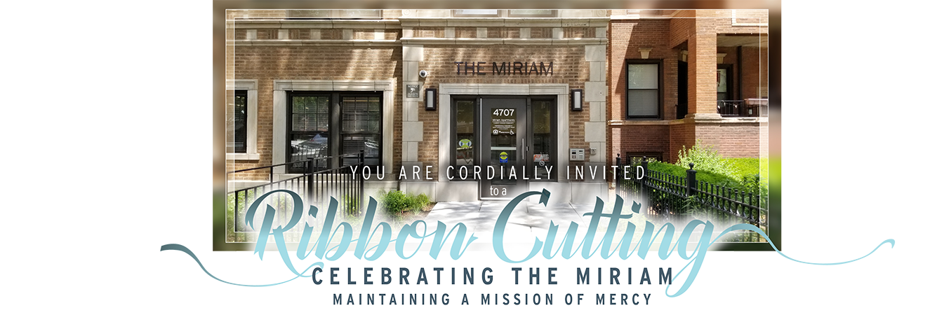 The Grand Reopening Celebration for the Miriam Apartments